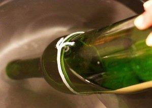 Фото бутылки с ниткой